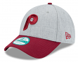 """Philadelphia Phillies New Era 9Forty MLB Cooperstown """"The League Heather 3"""" Hat"""