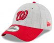 "Washington Nationals New Era 9Forty MLB ""The League Heather 3"" Adjustable Hat"