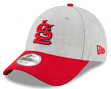 """St. Louis Cardinals New Era 9Forty MLB """"The League Heather 3"""" Adjustable Hat"""