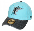 "Florida Marlins New Era MLB 9Twenty Cooperstown ""Rugged Canvas"" Adjustable Hat"