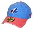 "Montreal Expos New Era MLB 9Twenty Cooperstown ""Rugged Canvas"" Adjustable Hat"