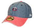 "Minnesota Twins New Era 9Twenty MLB ""Rugged Canvas"" Adjustable Hat"