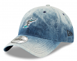 "Florida Marlins New Era MLB 9Twenty Cooperstown ""Denim Wash"" Adjustable Hat"