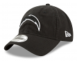 Los Angeles Chargers New Era NFL 9Twenty Core Classic Twill Adjustable Black Hat