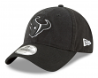 "Houston Texans New Era NFL 9Twenty ""Core Classic Twill"" Adjustable Black Hat"