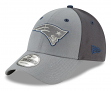 "New England Patriots New Era NFL 9Forty ""The League Pop"" Adjustable Hat - Gray"