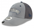 "Seattle Seahawks New Era NFL 9Forty ""The League Pop"" Adjustable Hat - Gray"