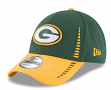 "Green Bay Packers New Era 9Forty NFL ""Speed Tech 2"" Performance Adjustable Hat"