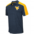 "West Virginia Mountaineers NCAA ""Skipper"" Men's Performance Polo Shirt"