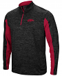 "Arkansas Razorbacks NCAA ""Turn Two"" 1/4 Zip Pullover Men's Wind Shirt"