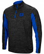 "Duke Blue Devils NCAA ""Turn Two"" 1/4 Zip Pullover Men's Wind Shirt"
