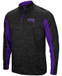 "TCU Horned Frogs NCAA ""Turn Two"" 1/4 Zip Pullover Men's Wind Shirt"