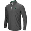 "Michigan State Spartans NCAA ""Sweet Spot"" 1/4 Zip Pullover Men's Wind Shirt"