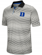 "Duke Blue Devils NCAA ""Number One"" Men's Performance Striped Polo Shirt"