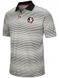 "Florida State Seminoles NCAA ""Number One"" Men's Performance Striped Polo Shirt"