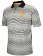 "Tennessee Volunteers NCAA ""Number One"" Men's Performance Striped Polo Shirt"