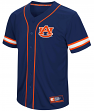 "Auburn Tigers NCAA ""Play Ball"" Men's Button Up Baseball Jersey"