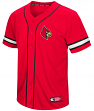 "Louisville Cardinals NCAA ""Play Ball"" Men's Button Up Baseball Jersey"