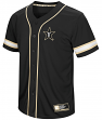 "Vanderbilt Commodores NCAA ""Play Ball"" Men's Button Up Baseball Jersey"