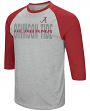 "Alabama Crimson Tide NCAA ""Steal Home"" Men's Dual Blend 3/4 Sleeve T-Shirt"