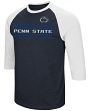 "Penn State Nittany Lions NCAA ""Steal Home"" Men's Dual Blend 3/4 Sleeve T-Shirt"