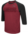 "South Carolina Gamecocks NCAA ""Steal Home"" Men's Dual Blend 3/4 Sleeve T-Shirt"