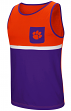 "Clemson Tigers NCAA ""Sun's Out"" Men's Pocket Tank Top Shirt"