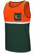 "Miami Hurricanes NCAA ""Sun's Out"" Men's Pocket Tank Top Shirt"