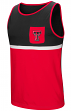 "Texas Tech Red Raiders NCAA ""Sun's Out"" Men's Pocket Tank Top Shirt"