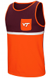 "Virginia Tech Hokies NCAA ""Sun's Out"" Men's Pocket Tank Top Shirt"