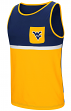 "West Virginia Mountaineers NCAA ""Sun's Out"" Men's Pocket Tank Top Shirt"