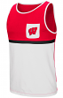 "Wisconsin Badgers NCAA ""Sun's Out"" Men's Pocket Tank Top Shirt"