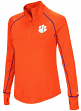 "Clemson Tigers Women's NCAA ""Superstar"" 1/4 Zip Long Sleeve Wind Shirt"