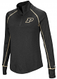 "Purdue Boilermakers Women's NCAA ""Superstar"" 1/4 Zip Long Sleeve Wind Shirt"
