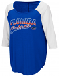 "Florida Gators Women's NCAA ""Long Ball"" 3/4 Sleeve Dual Blend Shirt"