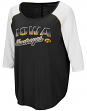 "Iowa Hawkeyes Women's NCAA ""Long Ball"" 3/4 Sleeve Dual Blend Shirt"