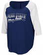 "Penn State Nittany Lions Women's NCAA ""Long Ball"" 3/4 Sleeve Dual Blend Shirt"