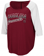 "South Carolina Gamecocks Women's NCAA ""Long Ball"" 3/4 Sleeve Dual Blend Shirt"