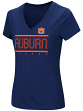 "Auburn Tigers Women's NCAA ""Goodness"" Dual Blend Short Sleeve T-Shirt"