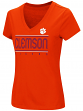 "Clemson Tigers Women's NCAA ""Goodness"" Dual Blend Short Sleeve T-Shirt"