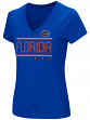 "Florida Gators Women's NCAA ""Goodness"" Dual Blend Short Sleeve T-Shirt"