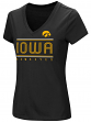 "Iowa Hawkeyes Women's NCAA ""Goodness"" Dual Blend Short Sleeve T-Shirt"