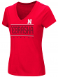 "Nebraska Cornhuskers Women's NCAA ""Goodness"" Dual Blend Short Sleeve T-Shirt"