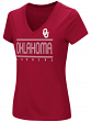 "Oklahoma Sooners Women's NCAA ""Goodness"" Dual Blend Short Sleeve T-Shirt"