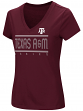 "Texas A&M Aggies Women's NCAA ""Goodness"" Dual Blend Short Sleeve T-Shirt"