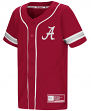 "Alabama Crimson Tide NCAA ""Play Ball"" Youth Button Up Baseball Jersey"