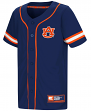 "Auburn Tigers NCAA ""Play Ball"" Youth Button Up Baseball Jersey"