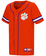 "Clemson Tigers NCAA ""Play Ball"" Youth Button Up Baseball Jersey"
