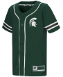 "Michigan State Spartans NCAA ""Play Ball"" Youth Button Up Baseball Jersey"