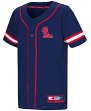 "Mississippi Ole Miss Rebels NCAA ""Play Ball"" Youth Button Up Baseball Jersey"